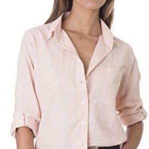 Tops - Women's Linen work casual shirt